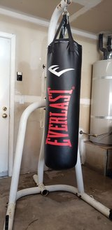 Heavy Bag punching bag w/stand in Fairfield, California