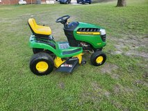 John Deere Riding Lawn Mower Only 46 Hours! in Byron, Georgia