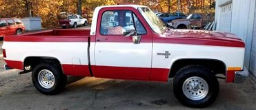 Nice 86 Chevy Truck 4X4 for sale ....... in Fort Leonard Wood, Missouri