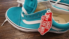 Turquoise vans nwt in Travis AFB, California