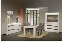 United Furniture - Wave Dining Set - China - Table - Chairs - includes delivery in Heidelberg, GE