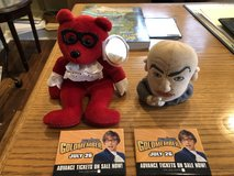 """Austin Powers Beanie, Dr. Evil Silly Slammer, 2 """"Goldmember"""" Promo Pins in St. Charles, Illinois"""