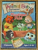 NEW Wild Animal Baby Explorers Playtime Pals DVD 5 Episodes TV Series in Yorkville, Illinois