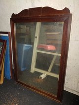 Antique Wood Hanging Mirror in Fort Leonard Wood, Missouri