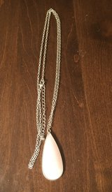 Silver/Pink Necklace in Yorkville, Illinois