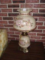 "28"" Quoizel Abigail Adams Collection Amber Floral Table Lamp WL703E in Tinley Park, Illinois"
