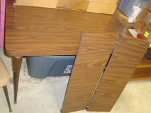 Retro 1960's 70 inch Kitchen Table with 6 Chairs in Tinley Park, Illinois