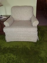 Off White Accent Upholstered Sofa Chair in Tinley Park, Illinois