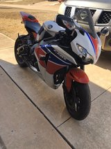 CBR1000RR in Tinker AFB, Oklahoma