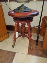 Claw and Ball Foot Piano Stool in Fort Leonard Wood, Missouri