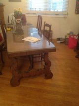 Antique Solid Oak Table in Chicago, Illinois