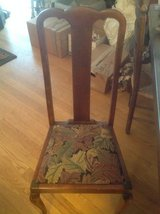 Antique Oak Chairs (4) in Chicago, Illinois