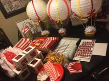 80 Circus Party Decorations items (lot) in Joliet, Illinois