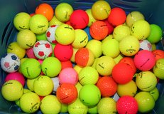 Color golf balls .75 cents each. in Westmont, Illinois