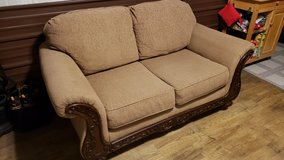 Nice Tan Love Seat in Fort Leonard Wood, Missouri