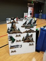 Quial , Bear, , Elk Moose , wolf,  Eagle scene's have other items also in Tacoma, Washington