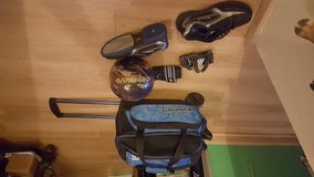 Bowling ball/bag/shoes/gloves set in Fort Polk, Louisiana