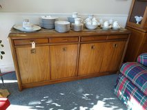 Contemporary Wood Buffet in St. Charles, Illinois