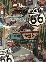 Route 66 fabric in Ramstein, Germany