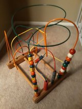 Rollercoaster bead maze wire game in St. Charles, Illinois