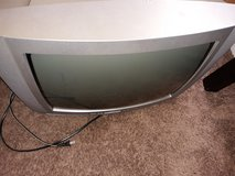 24in box TV with prongs . in Beaufort, South Carolina