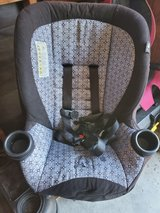 car seat in Camp Pendleton, California