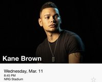 Kane Brown rodeo tickets in Houston, Texas