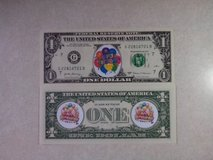 BRAND NEW COLORIZED NOVELTY BIRTHDAY DOLLAR - SECOND DESIGN in Orland Park, Illinois