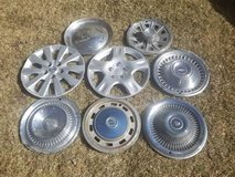 HUBCAPS - Lot of 8 Misc. Hubcaps in Bolingbrook, Illinois