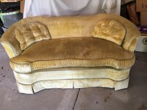Vintage Love Seat Sofa in Chicago, Illinois