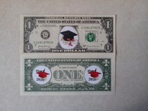 BRAND NEW COLORIZED NOVELTY GRADUATION DAY DOLLAR - FIRST DESIGN in Orland Park, Illinois