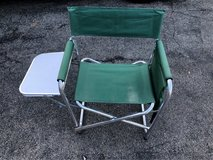 Camping directors chair in Chicago, Illinois