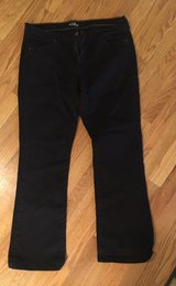 14R Women's Black Jeans in Joliet, Illinois