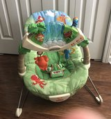 Fisher Price Rainforest Bouncer seat w/vibration, sounds and lights in Camp Lejeune, North Carolina