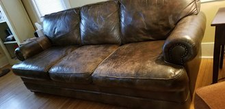 Leather Couch by Walter E. Smithe in St. Charles, Illinois