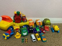 Toy car lot in Camp Pendleton, California