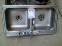 Stainless Steel double sink in Alamogordo, New Mexico