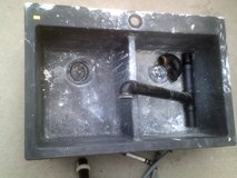 Utility sink, black (needs cleaning) in Alamogordo, New Mexico