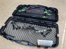 Browning Micro Midas 3 Bow & Arrows with case in Houston, Texas