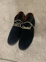 Men's Kenneth Cole Navy suede shoes in Chicago, Illinois