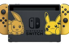Pokémon let's go limited edition Nintendo switch in Fort Knox, Kentucky