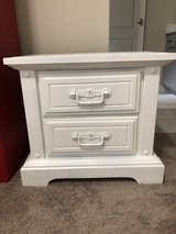 White nightstand in The Woodlands, Texas