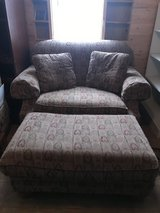 Oversized chair with ottoman in Aurora, Illinois