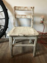Rustic chair decor in Aurora, Illinois