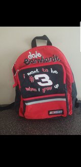 Kids backpack dale earnhardt #3 in Schaumburg, Illinois