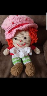Handmade strawberry shortcake doll in Schaumburg, Illinois