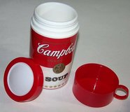 Vintage 1998 Collectable Campbell Soup Can-Tainer Insulated Hot Food Thermos in Morris, Illinois