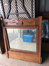 Antique Oak Frame Beveled Mirrors in Cherry Point, North Carolina