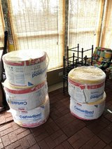 5 rolls of certainteed R30 unfaced insulation in Chicago, Illinois