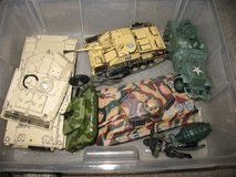 Lot of army toys in Naperville, Illinois